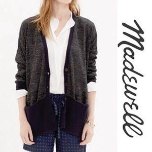 Madewell Yarnmix Contrast Cardigan